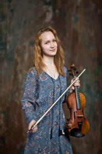 Катерина Зарова - скрипка