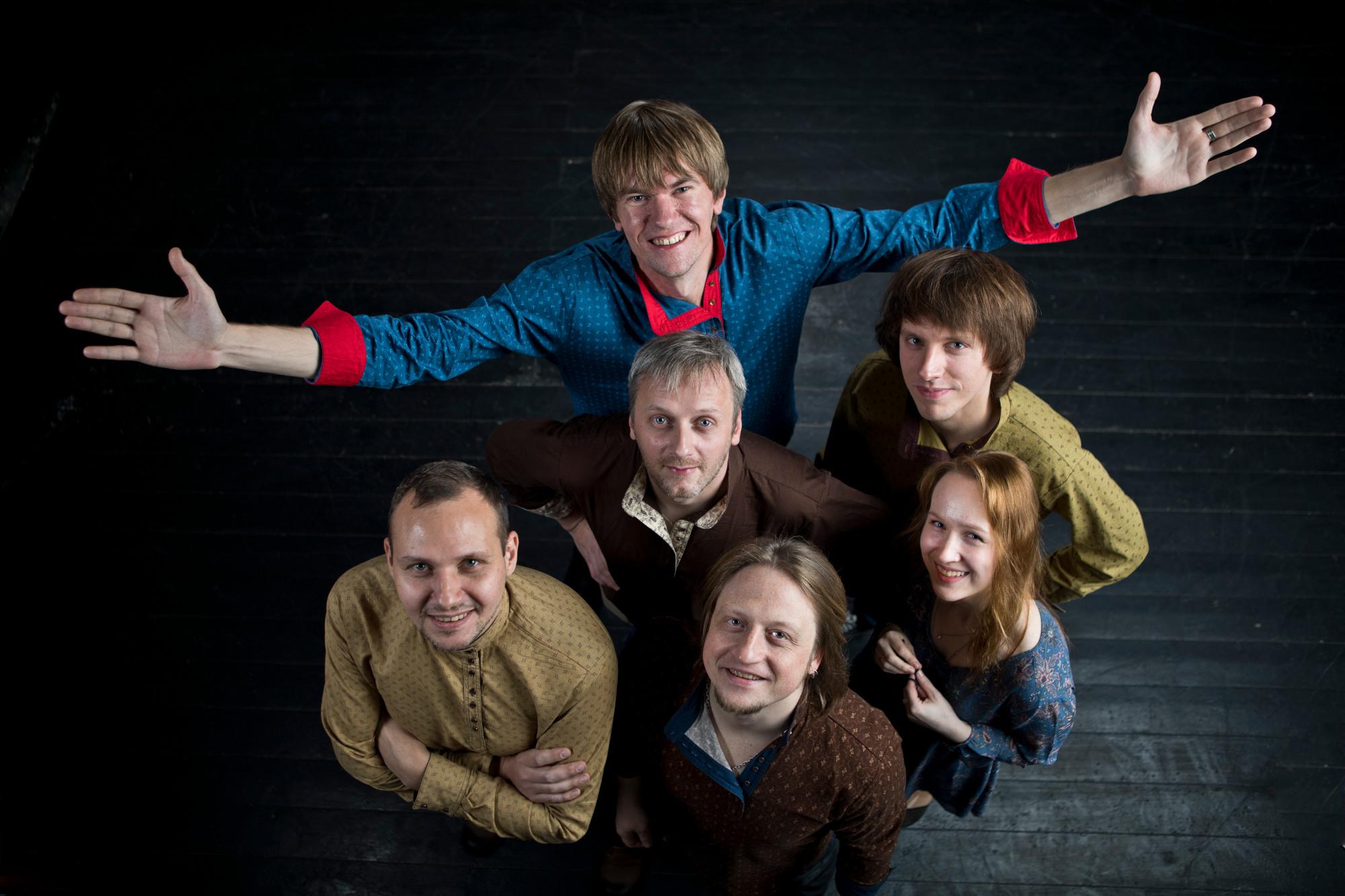 Фолк-рок группа из Москвы